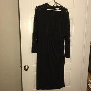 Calvin Klein Women's Black Dress